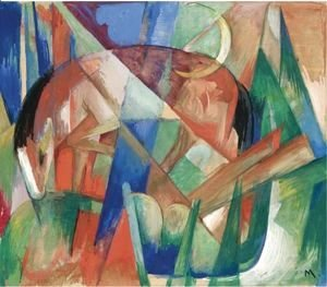 Franz Marc - Fabulous Animal II, Horse
