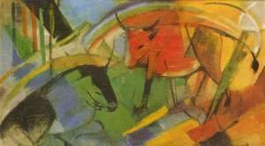 Franz Marc - Cattle