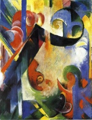 Franz Marc - Broken Forms
