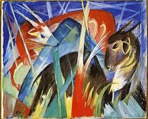 Franz Marc - Fairy Animals