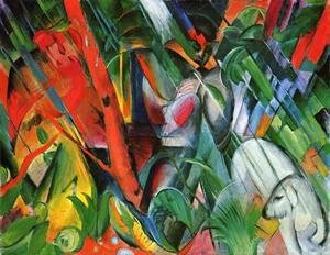 Franz Marc - In The Rain