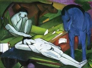 Franz Marc - Shepherds