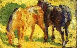 Franz Marc - Small Horse Picture