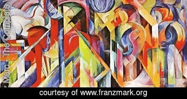 Franz Marc - Stables