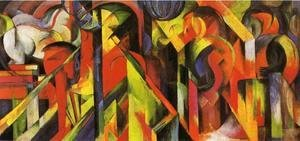 Franz Marc - Stables2