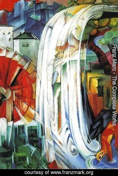 Franz Marc - The Enchanted Mill