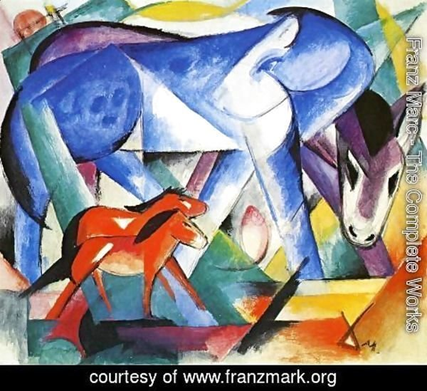 Franz Marc - The First Animals