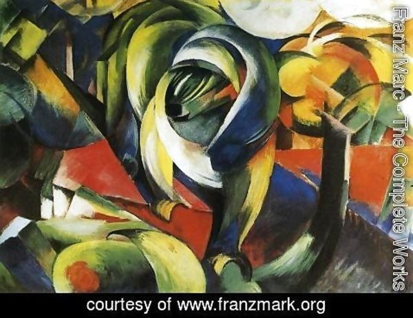 Franz Marc - The Mandrill