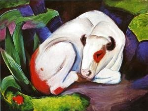 Franz Marc - The Steer Aka The Bull