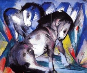 Franz Marc - Two Horses2