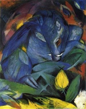Franz Marc - Wild Pigs (boar And Sow)